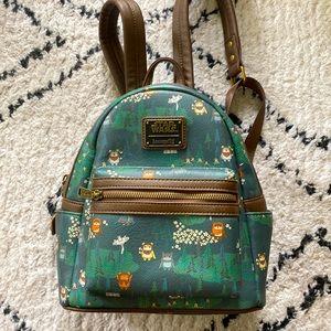 Loungefly x Star Wars x Disney Ewok backpack bag